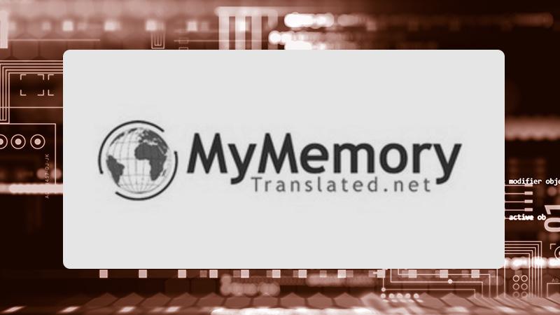 SDL Trados MyMemory